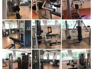 Precor Cardiomaskiner Komplett Gym-Cybex